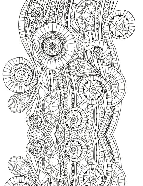 complex patterns  coloring book printables
