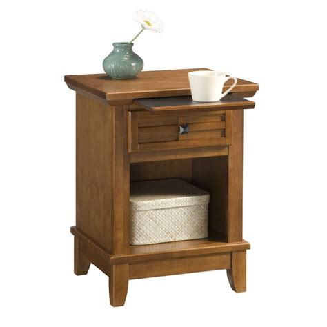 Cottage Nightstand by Shop Home Styles Arts And Crafts Cottage Oak Nightstand At