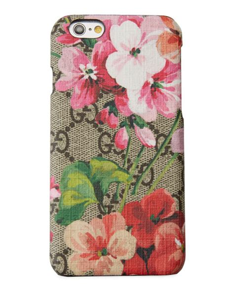 Flower Bloom Iphone 7 Softcase Softshell Silicon Cover gucci gg blooms iphone 6 6s neiman