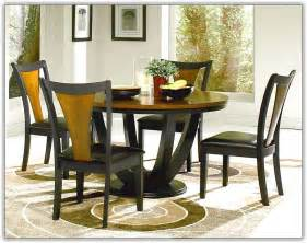 Kitchen Table And Chairs Glass Top Dining Table Set W 4 Wood Back Side Chairs