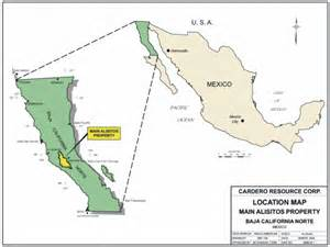 fig 1 location map of the baja california norte iocg