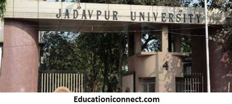 Mba Fees At Jadavpur by Jadavpur Courses Fee Structure 2018 19