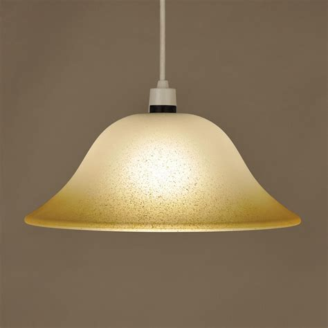 vintage style frosted glass ceiling light l shade