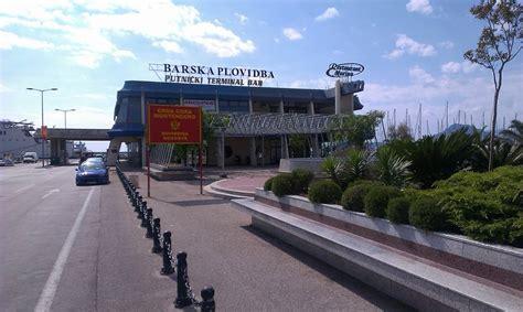 port of bar montenegro maritime transport montenegro travel agency adria line