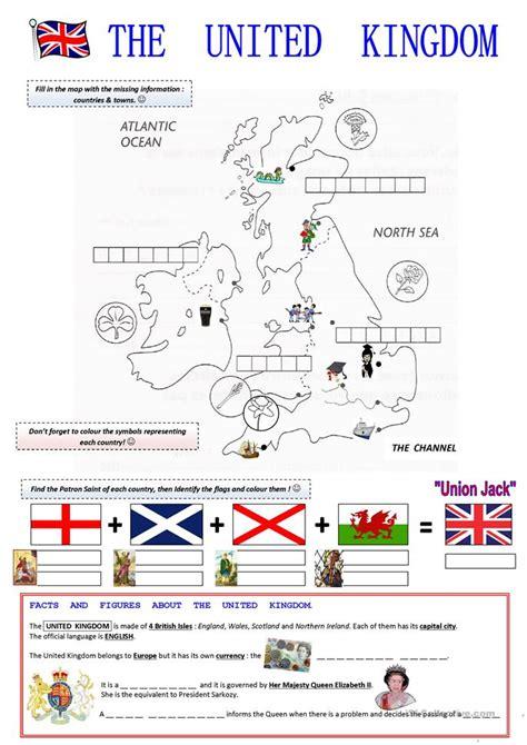 esl le the united kingdom worksheet free esl printable