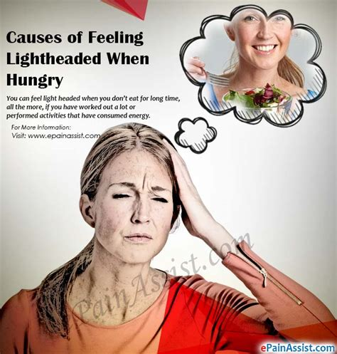 feeling light headed and headache feeling light headed when hungry causes symptoms treatment