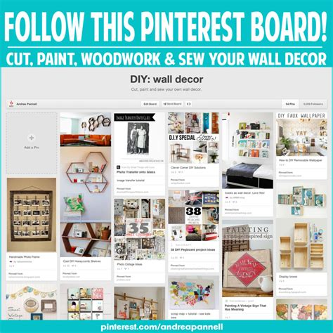 make your own wall decor andrea s notebook