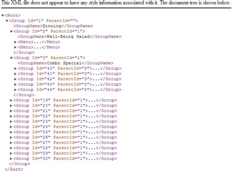 xml tutorial element attribute cannot get xml element attribute value from a recursive