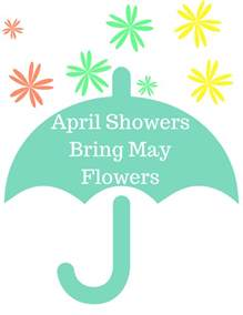 april showers quotes like success