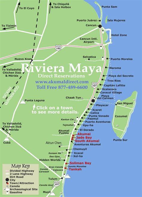 akumal resort hotel map riviera all inclusive hotels playa all
