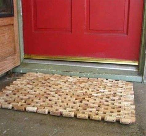 tappeto con tappi di sughero timbri con tappi di sughero foto tempo libero