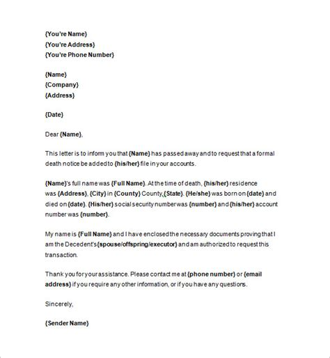 Notice Business Letter Template Notice Template 104 Free Word Pdf Format Free Premium Templates