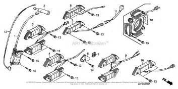 honda engines gx160k1 vw12 b engine jpn vin gcaak 1000001 to gcaak 9999999 parts diagram for