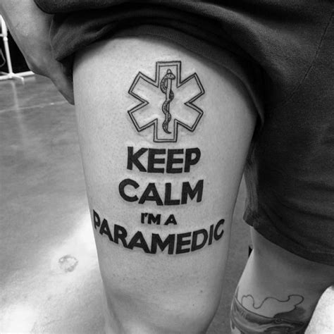 star of life tattoos 60 of designs for ems emt and