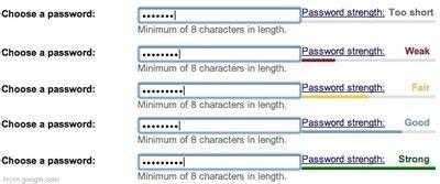 design pattern password strength password strength meter design pattern exle 3 of 6