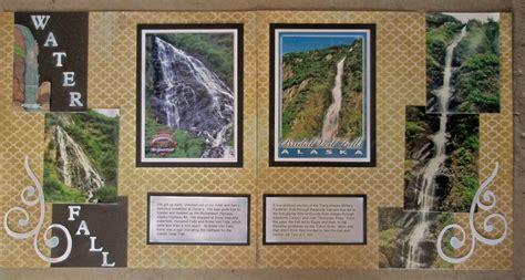 Scrapbook Layout Waterfalls   1000 images about layouts waterfalls on pinterest