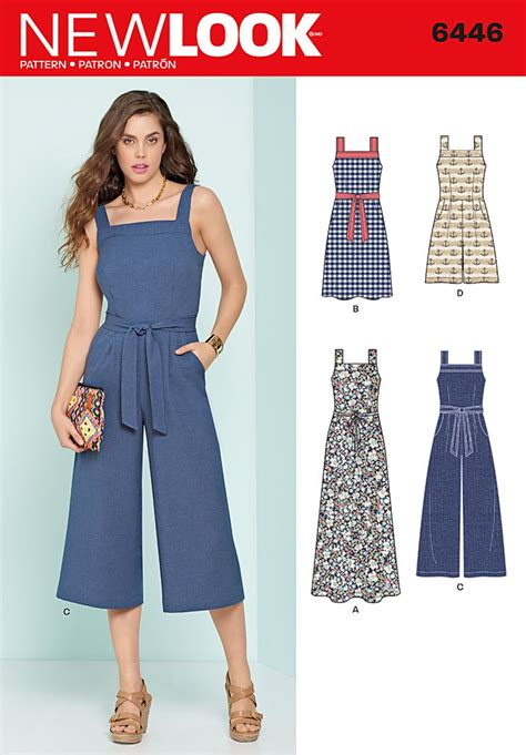 Jumpsuit Dress new look 6446 misses jumpsuits and dresses