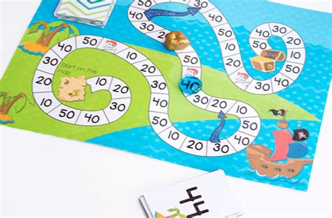 printable games for rounding numbers free printable pirate board game rounding to tens