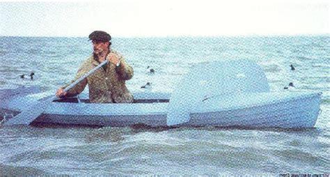 layout boat hunting lake erie louis canoe works lake erie duckboat wcha forums