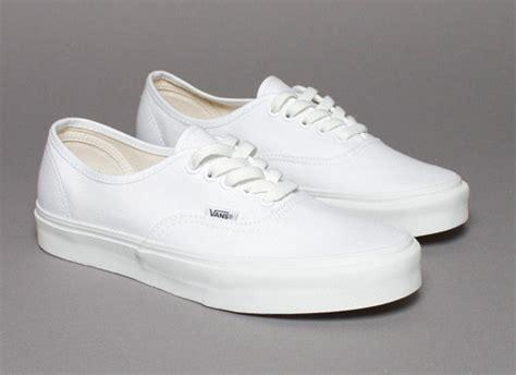Vans Classics Autentic Fullwhite White On White Shoes Hypebeast Forums