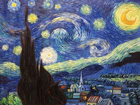 5 Paintings By Gogh by Gift Painting Of Vincent Gogh