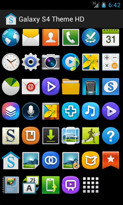 changer themes galaxy s4 galaxy s4 theme hd free adw 1 0 apk download android