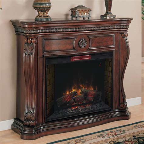 33 in infrared empire cherry electric fireplace
