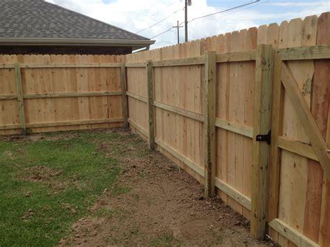 fence building wood fences frank breaux construction