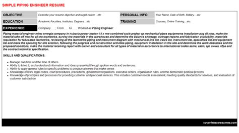piping engineer cover letter targer golden dragon co