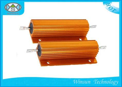 high voltage wire wound resistor high voltage wire wound power resistor winding gold 200w 0 01 ohm resistor