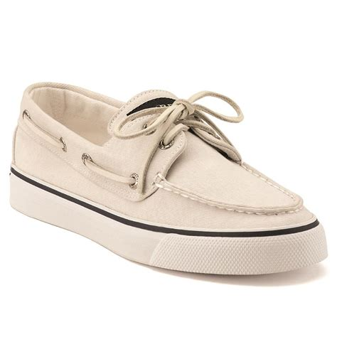 s canvas bahama boat shoe