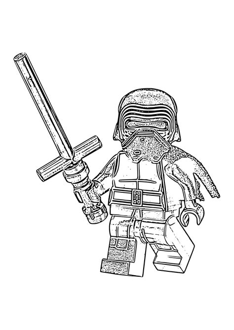 coloring pages kylo ren printable coloring pages of kylo ren freecoloring4u com