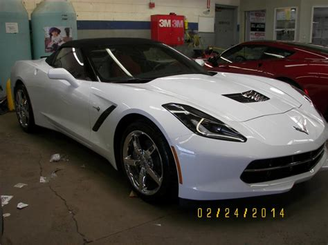 2014 white corvette stingray for sale for sale 2014 stingray convertible arctic white adrenaline