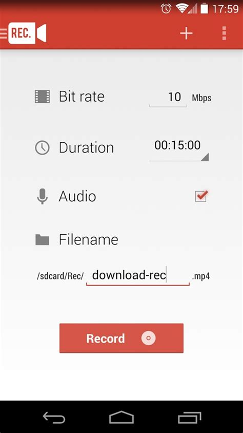 android recorder how to record android phone screen nexus samsung