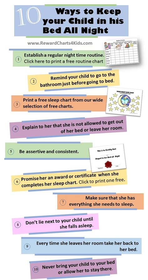 how to get her in bed beds children and bedtime routine chart on pinterest