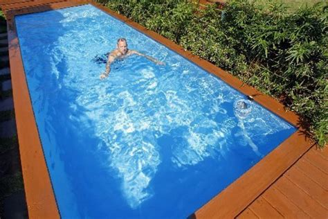 Modern Box House by Diy Magic Stylish Garden Pool Box Made From A Waste