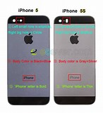 Image result for Difference Between 5 and 5S iPhone