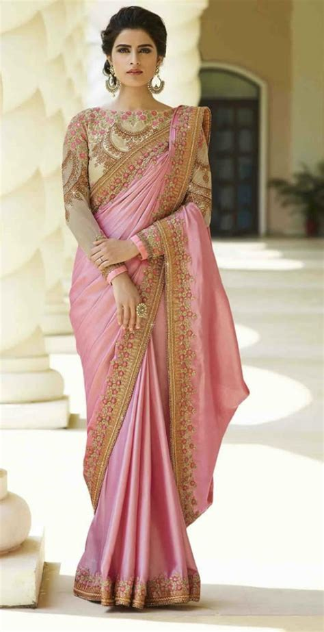which colour blouse suits for pink saree 25 awesome pics of party wear saree blouse designs