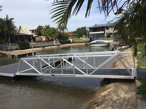 boat lift for sale gold coast strut pontoons pontoons strut concrete pontoons