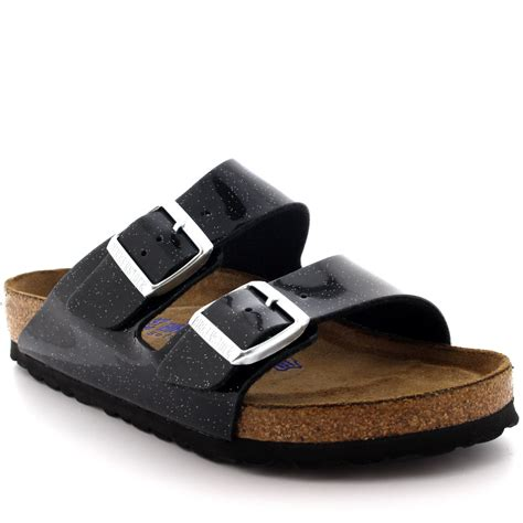 open sandals womens birkenstock arizona magic galaxy open