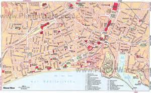 Map Of Nice France by Map Of Nice France Recana Masana