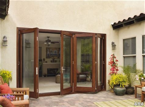 Outdoor Patio Doors by Patio Doors Provide A Fresh Approach To Inspired