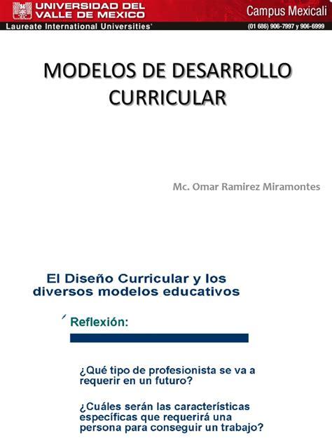 Modelo Curricular Goodlad Modelos De Desarrollo Curricular
