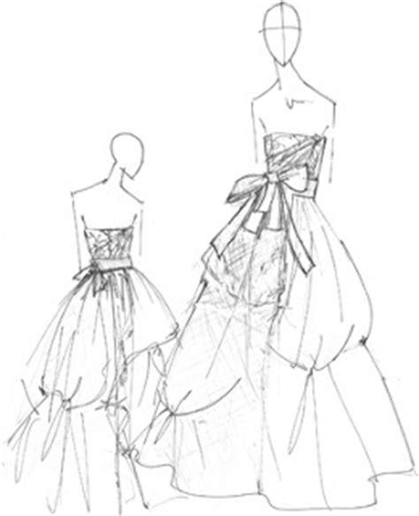 seni reka fesyen sketches fesyen figura