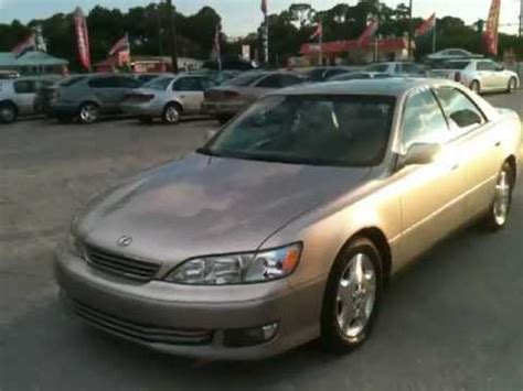 lexus es 2000 2000 lexus es 300 view our current inventory at