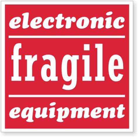fragile shipping labels sku d1039