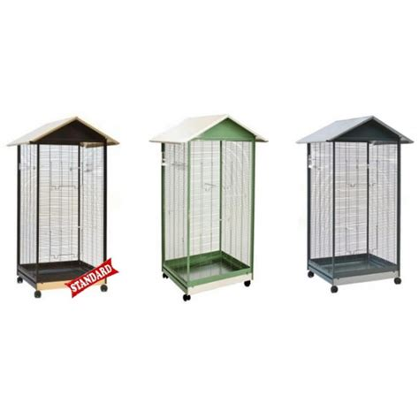gabbia per uccellini gabbia voliera zincata per uccelli damo made in italy