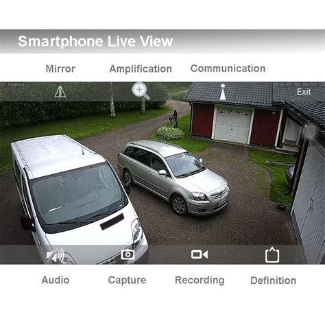 camara ip exterior wifi c 225 mara ip wifi exterior con audio y alumbrado