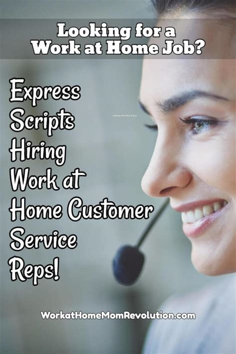 work at home express scripts hiring customer service reps