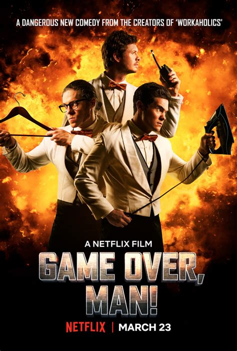First Action Comedy Film   full length trailer for action comedy game over man